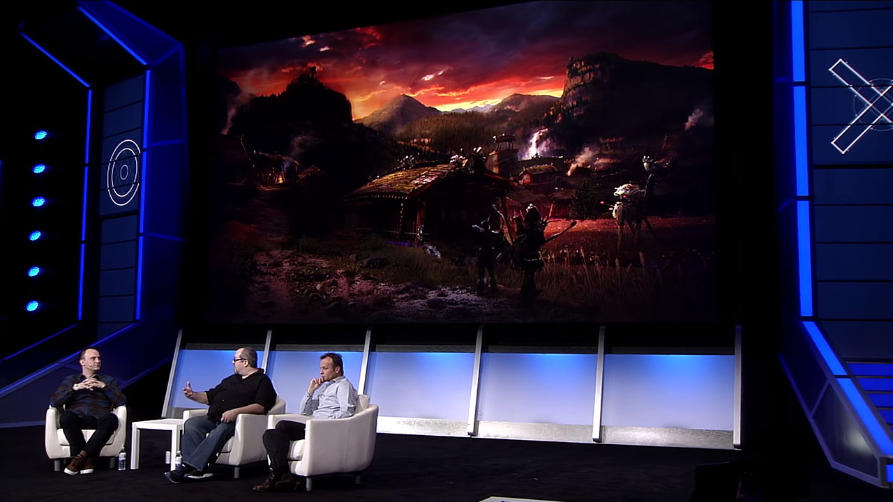 Horizon: Zero Dawn- PlayStation Experience 2016: Panel Discussion | PS4