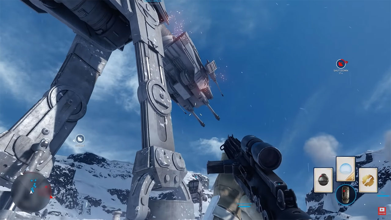 Star Wars Battlefront - Multiplayer Gameplay | E3 2015 Walker Assault on Hoth